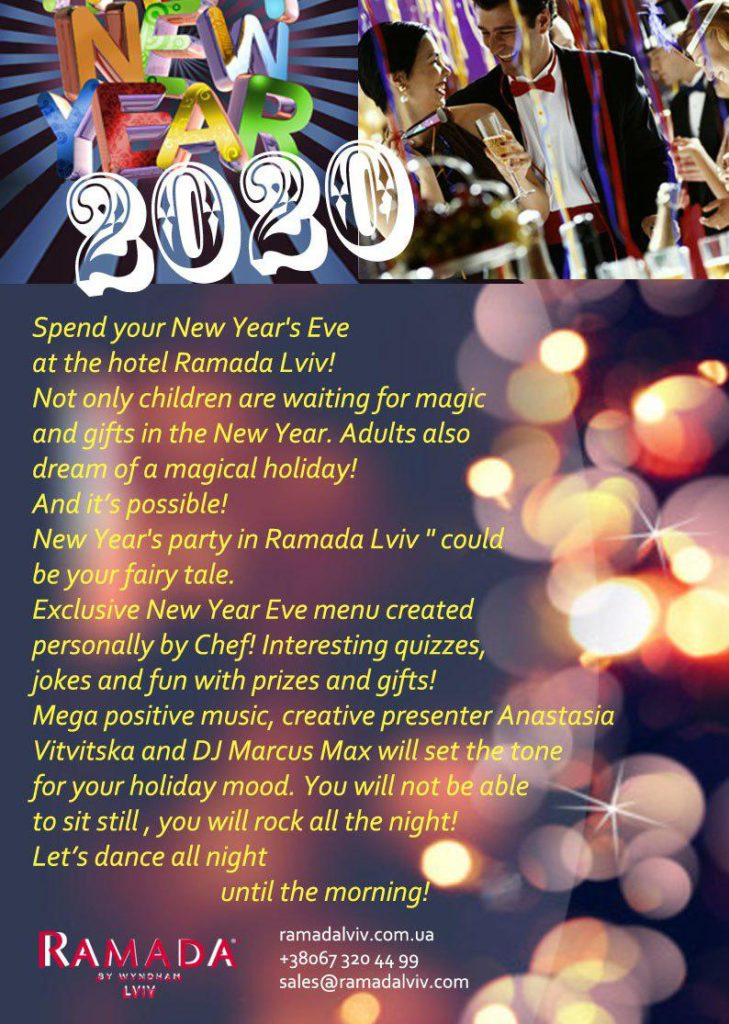 New Year's Eve with the brand! Brand your new year!